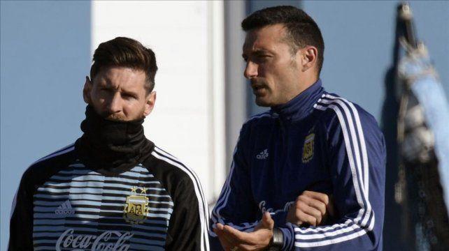 Scaloni citó a Messi y Lo Celso, pero no a Di María