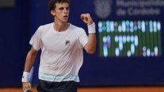 En su primer ATP, Juan Cerúndolo hizo historia: ganó el Córdoba Open