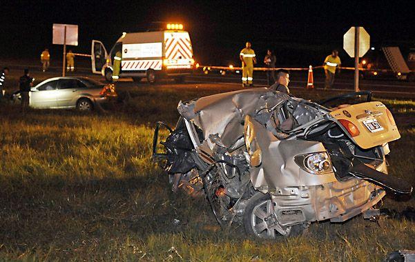 Siniestro fatal ocurrido el pasado 20 de abril.