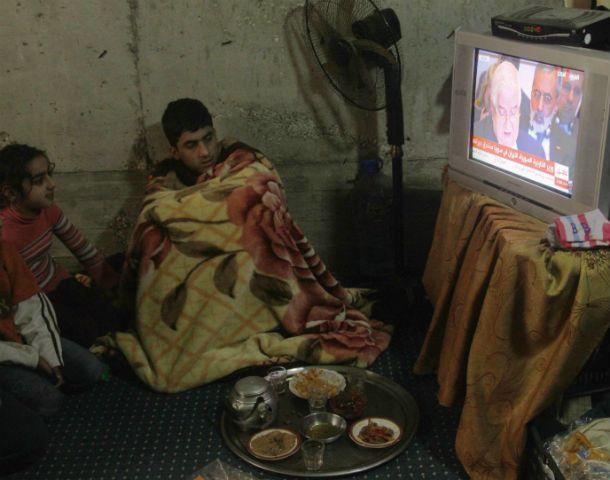 Refugiados sirios en Sidón