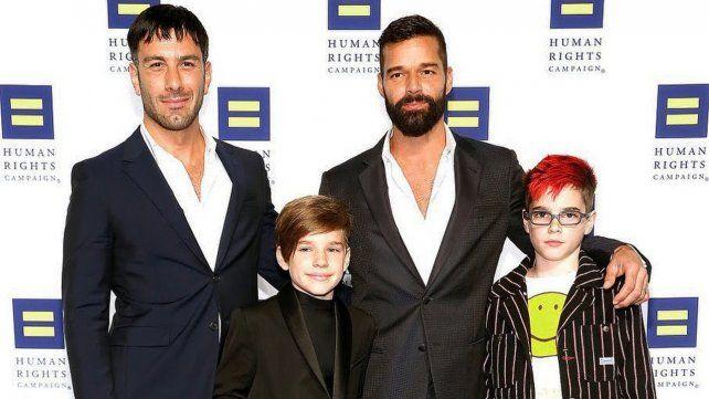 Ricky Martin anunció que será padre por cuarta vez