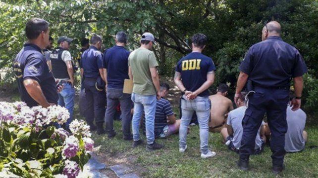 Imputados. Los rugbiers están acusados de matar a golpes a Fernando Báez Sosa