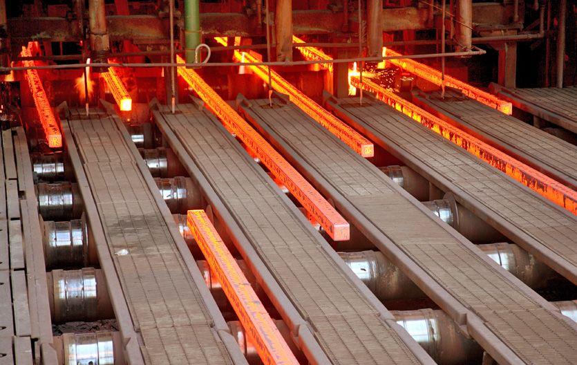 El precio del acero registró una baja de entre el 0
