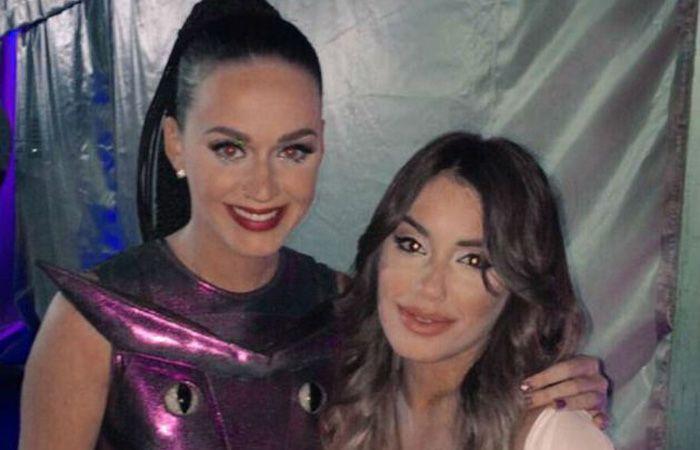 Lali Espósito actuó como telonera de Katy Perry en el Hipódromo de Palermo