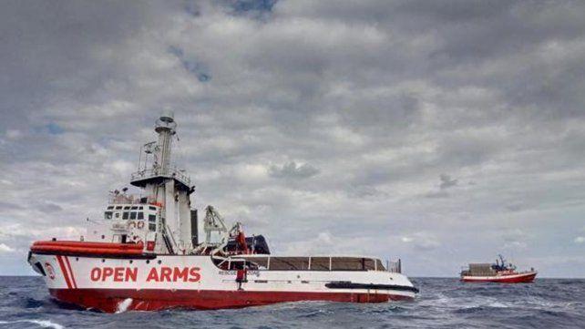 El buque de socorro Open Arms.