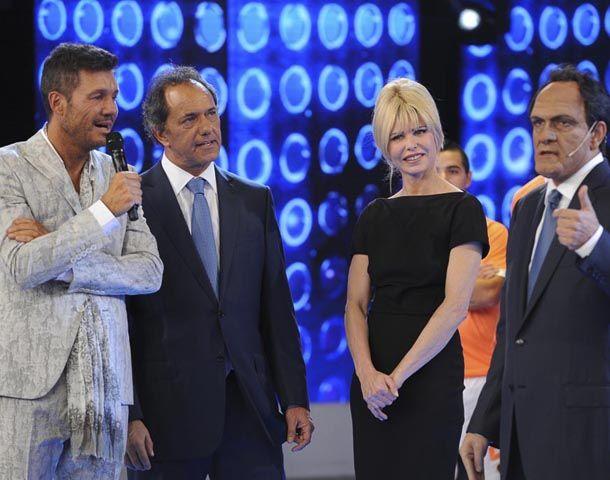 El gobernador Daniel Scioli