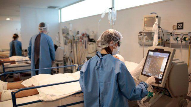 La terapia intensiva del Heca sigue recibiendo a pacientes con coronavirus de Rosario.