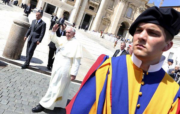 Protagonista. El Pontífice hará el oficio. El último antecedente fue en 2000 cuando Juan Pablo II bendijo los anillos.
