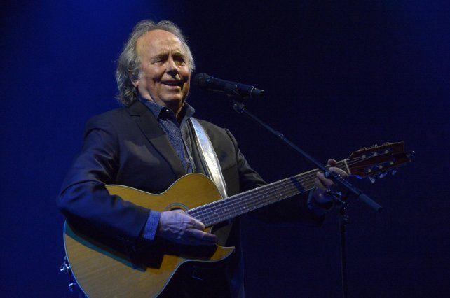 Joan Manuel Serrat celebra los 50 años de la grabación de Mediterráneo