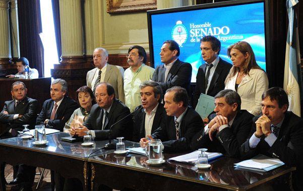 Todos afuera. Los senadores de la oposición no concurrieron a las reuniones de comisión para tratar la iniciativa.