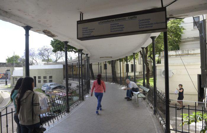 Algunos niños fueron trasladados a otras salas del hospital y al policlínico Eva Perón. (foto archivo: Sebastián Suárez Meccia)