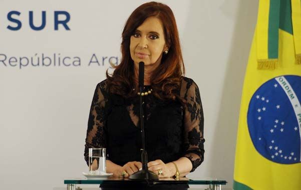 Gesto presidencial. Cristina respaldó al militante del PRO atacado.