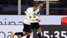 Atalanta batió al líder Milan con un gol de Cristian Romero