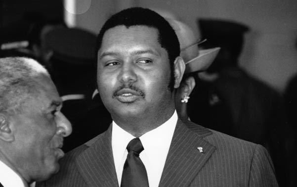 Duvalier sufrió un infarto a los 63 años