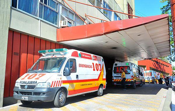 El joven Caranza llegó con vida al Hospital de Urgencias de Córdoba