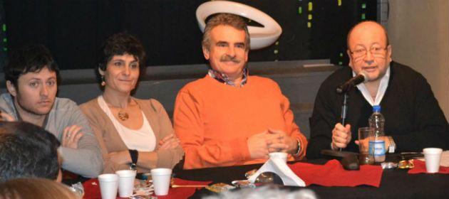 Rossi habló durante su visita a la ciudad de Funes donde participó de un encuentro con referentes políticos de la región