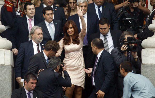 Cristina se refirió al caso Nisman y también acusó al Poder Judicial de cambiar las leyes para gobernar el país.