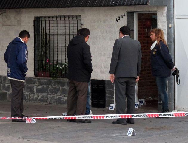 Riobamba al 4300. El asesinato se produjo el martes a la mañana. (Foto: A. Celoria)
