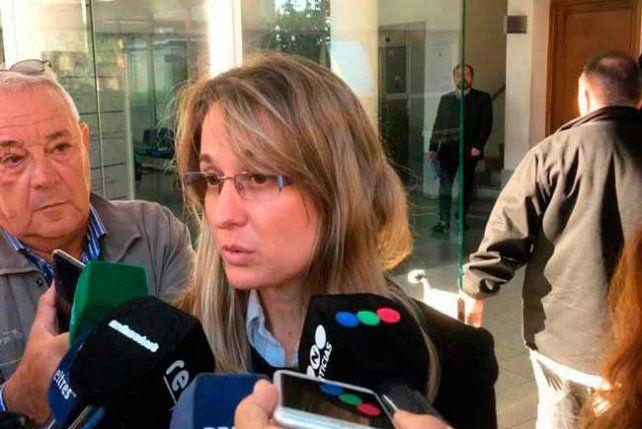 La fiscal Melisa Serena.