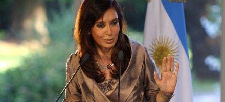 Cristina Kirchner anunció la eliminación de la tablita de Machinea