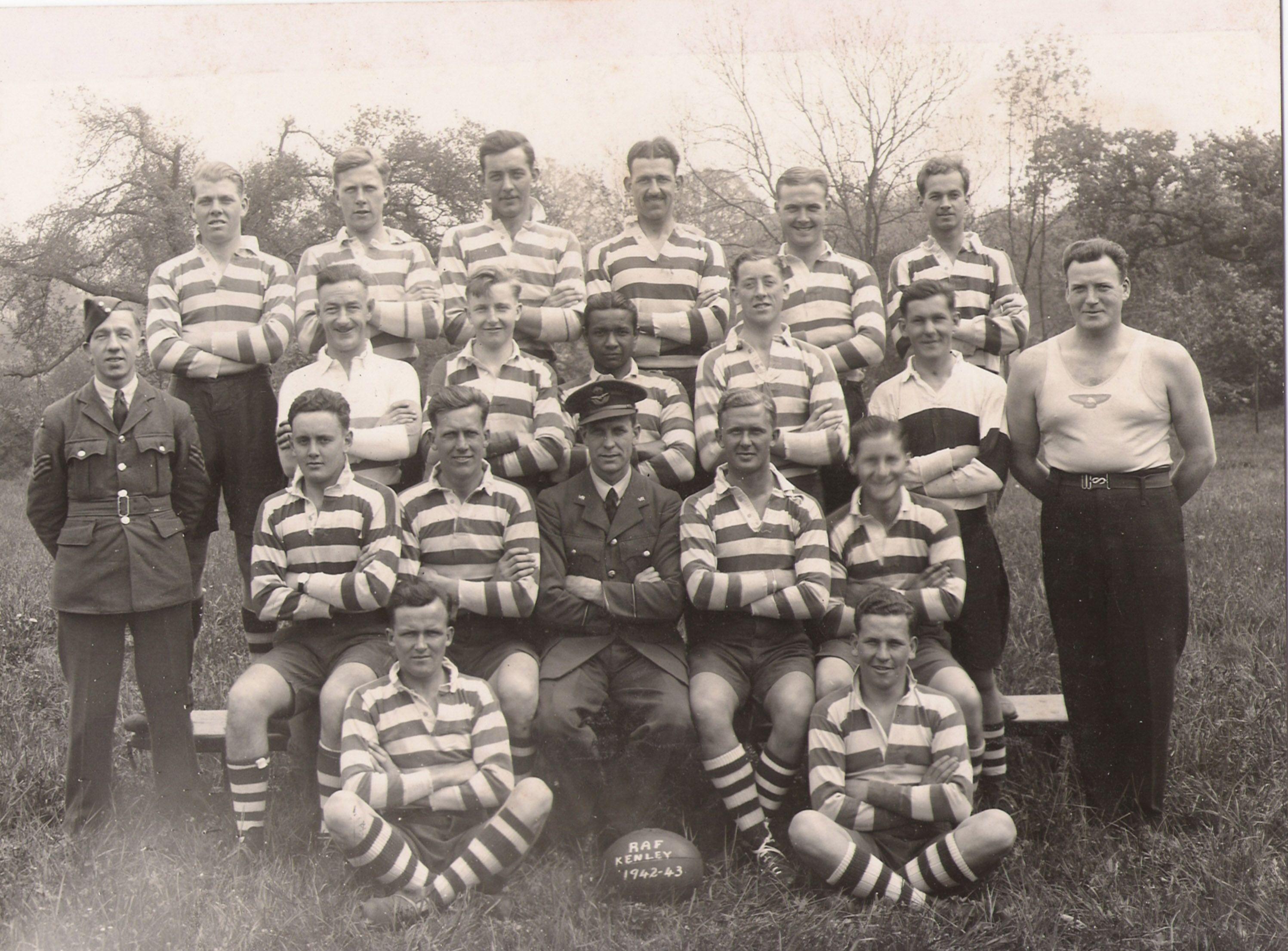 Muchos jugadores de rugby engrosaron las filas aliadas en calidad de voluntarios en la Segunda Guerra Mundial