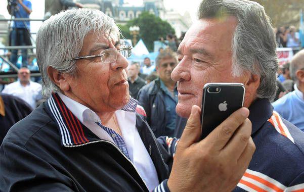 Opositores. Moyano y Barrionuevo