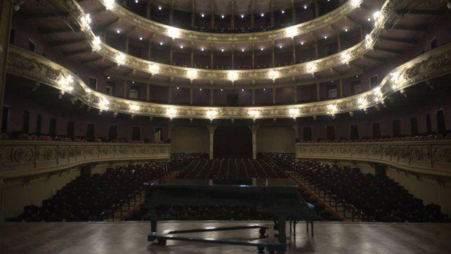 La inconfundible sala del teatro El Círculo