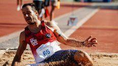 maximiliano diaz se impuso en salto triple en el campeonato de atletismo en rosario