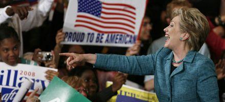 Hillary Clinton sigue en carrera tras su triunfo en Pensilvania