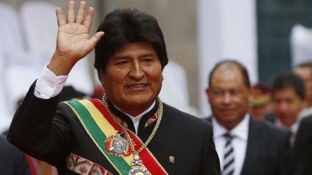 Evo Morales suma 31 por ciento en una encuesta e iría a balotaje