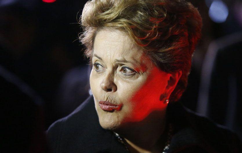 Dilma. El gobierno de Brasil enfrenta una masiva salida de capitales