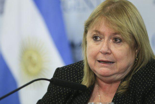 de punta. Susana Malcorra