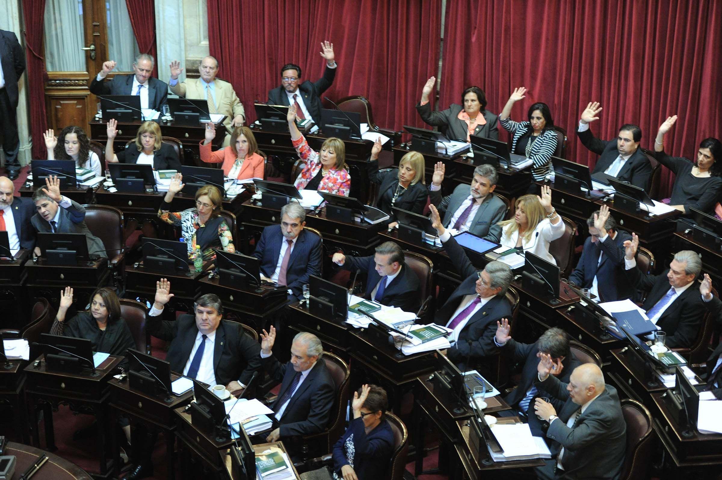 Los senadores afines a la Casa Rosada le dieron aprobación a la reforma del Código.