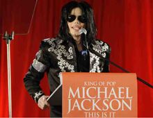 Michael Jackson comienza a despedirse de sus fanáticos con diez conciertos