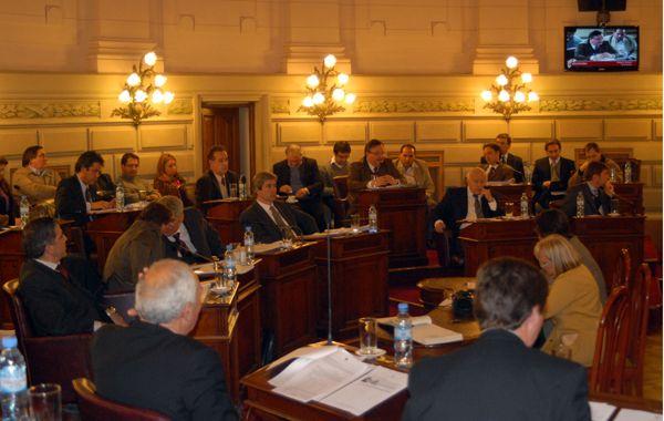 La Cámara alta dio media sanción a la reforma tributaria. (Foto: R. Paroni)
