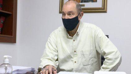 El intendente de Granadero Baigorria, Adrián Maglia.