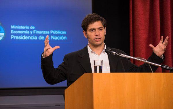Kicillof precisó que el consumo de nafta en Argentina aumentó 142% entre 2003 y el año pasado.