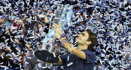 El maestro Federer volvió a dar clase