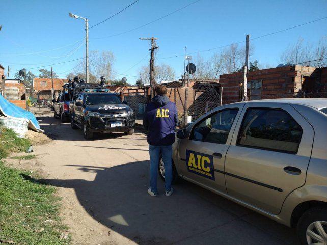 Los sospechosos fueron detenidos el miércoles en Rosario.