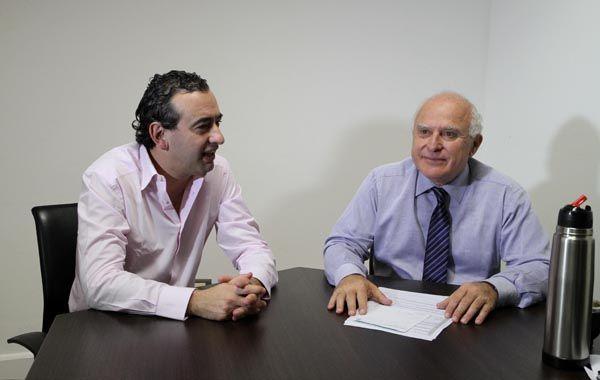 Lifschitz se reunió con el diputado nacional Pablo Javkin y se pusieron de acuerdo en tratar temas concretos.