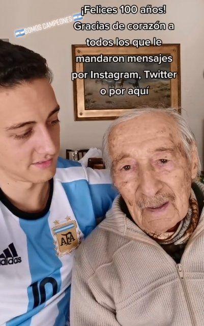 Julián y su abuelo