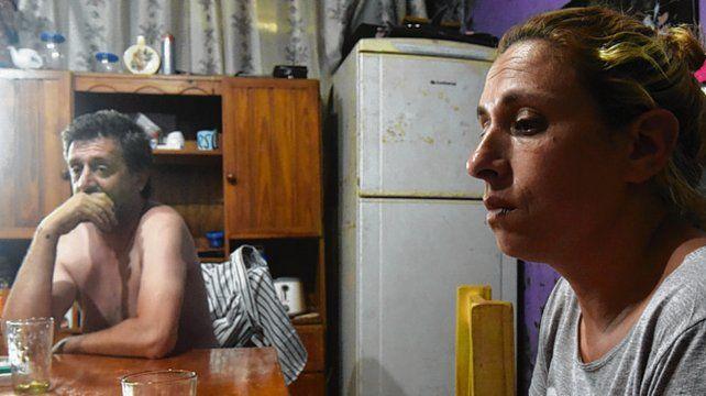dolor. Los padres de Rocío contaron sobre la violencia sufrida por la chica.