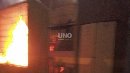 Revuelta de presos en la Comisaría 12° de Santo Tomé con incendio y balas de goma