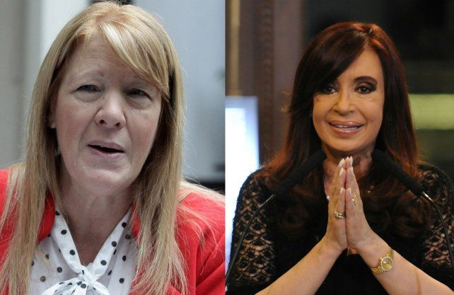 Críticas. Stolbizer sostiene que Cristina quiere ir al Senado para tener fueros como Menem.
