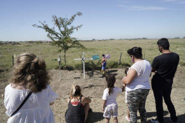 A cuatro años de la tragedia de Monticas. Familiares de las víctimas y sobrevivientes realizaron un acto en la ruta 33.