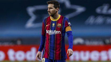 Lionel Messi define por estas horas el tema de su contrato con el Barcelona.