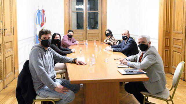 Los integrantes de Ciudad Futura