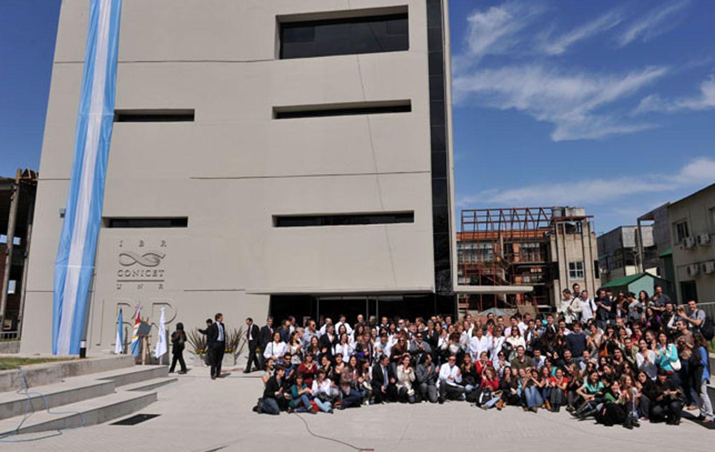 In situ. En 2011 se inauguró la nueva sede donde trabajan los investigadores.