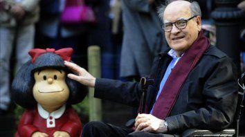 Quino, creador de Mafalda, murió a las 88 años.