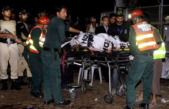 Al menos 63 personas muertas y 290 heridos tras un atentado en un parque de Pakistán